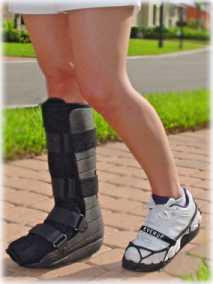 EVEN UPs – don't let back, hip, or knee injury develop because of a foot injury!